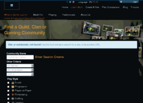 forsakenaa.guildlaunch.com