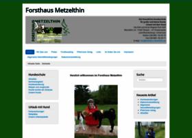 forsthaus-metzelthin.de