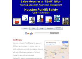 fortbendcounty.houstonforkliftsafety.com