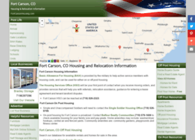 fortcarsonhousing.com