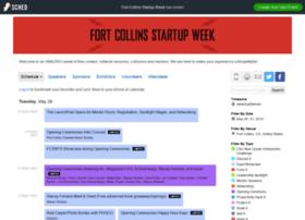 fortcollinsstartupweek2015.sched.org