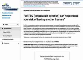 forteo.com