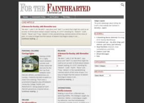 forthefainthearted.com