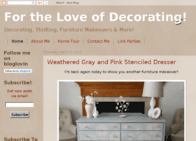 forthelloveofdecorating.blogspot.com