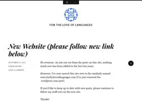 fortheloveoflanguages.wordpress.com
