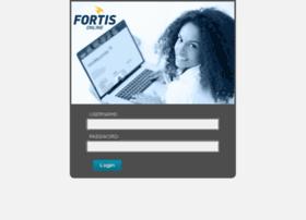 fortis.blackboard.com
