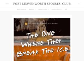 fortleavenworthspousesclub.org