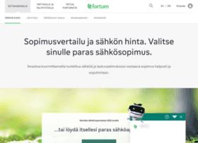 fortum-sahkosopimus.fi