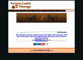 fortunecookiemessage.com