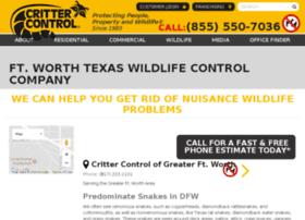 fortworth.crittercontrol.com