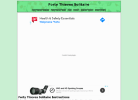fortythievessolitaire.com