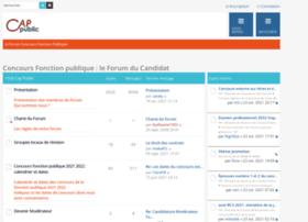 forum-concours.cap-public.fr