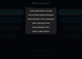 forum-dacia.com