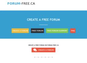 forum-free.ca
