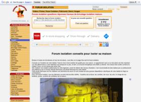 forum-isolation.com