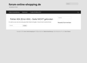 forum-online-shopping.de