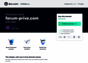 forum-prive.com