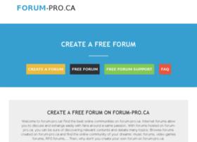 forum-pro.ca