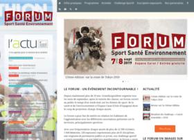 forum-sport-sante-environnement.com