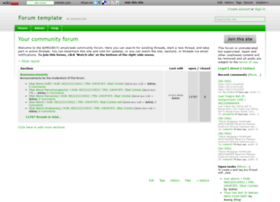 forum-template.wikidot.com