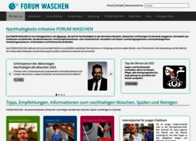 forum-waschen.de