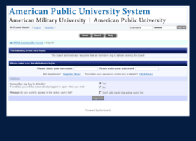 forum.apus.edu