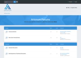 forum.arionum.com