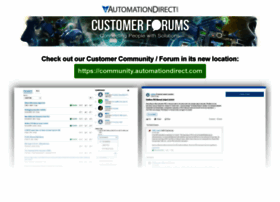 forum.automationdirect.com