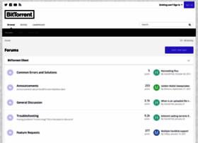 forum.bittorrent.com