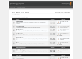 forum.blackmagicdesign.com