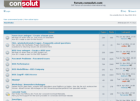 forum.consolut.com