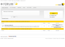 forum.cubeware.com