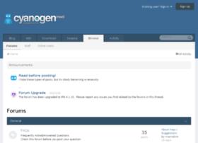 forum.cyanogenmod.com