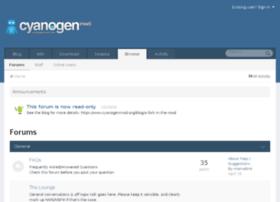 forum.cyanogenmod.org