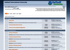 forum.daffodilvarsity.edu.bd