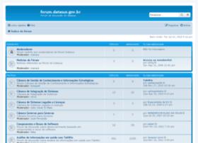 forum.datasus.gov.br