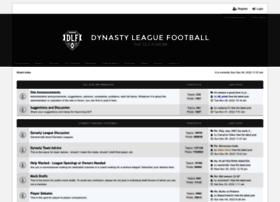 forum.dynastyleaguefootball.com