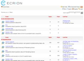 forum.ecrion.com