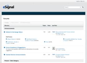 forum.esignalcentral.com