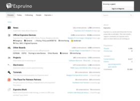 forum.espruino.com