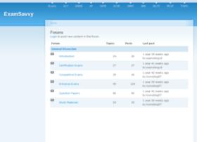 forum.examsavvy.com