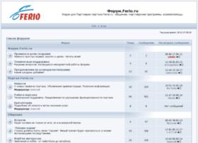 forum.ferio.ru