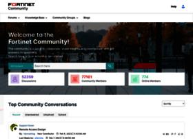 forum.fortinet.com
