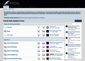 forum.fractalaudio.com