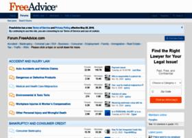 forum.freeadvice.com
