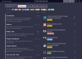 forum.freecodecamp.com