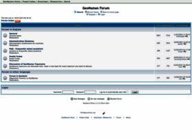 forum.geonames.org