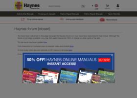 forum.haynes.com