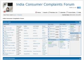 forum.indiaconsumercomplaints.org