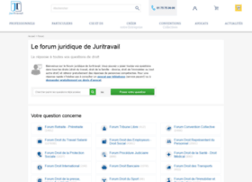 forum.juritravail.com